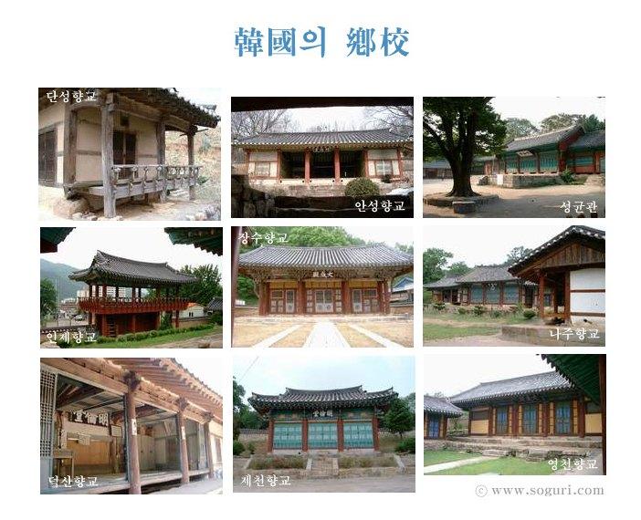 한국의 향교 리스트 2003